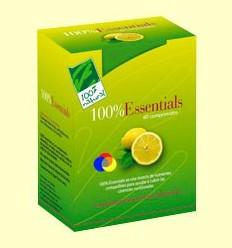 100% Essentials - 100% Natural - 60 comprimits