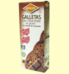 Galetes Maria amb Xocolata Sense Gluten - Singlu - 100 grams