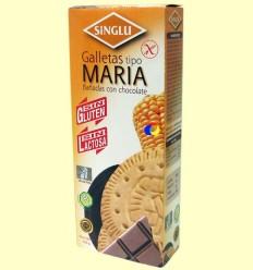 Galetes Maria banyades en Xocolata Sense Gluten - Singlu - 105 grams