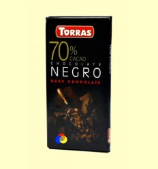 Xocolata Negre 70% Cacau - Torras - 80 grams