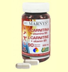 L-Carnitina + Vitamina B5 - Marnys - 90 càpsules