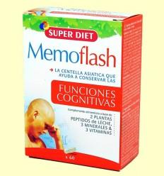 OFERTA-30% - Memoflash - Funcions Cognitives - Super Diet - 60 càpsules