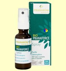 Bio Pranaforce Spray - Purifica l'atmosfera - Pranarom - 30 ml ******