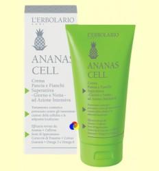 Crema Ventre i Malucs superactiva Dia i Nit - Cel·lulitis - Ananas Cell - L'Erbolario - 150 ml