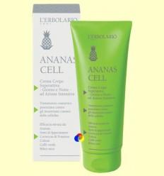 Crema Cos superactiva Dia i Nit - Cel·lulitis - Ananas Cell - L'Erbolario - 200 ml