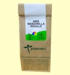 Anís + camamilla + regalèssia - Josenea infusions ecològiques - 10 piràmides