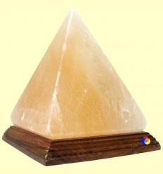 Llum de Sal Himàlaia amb forma de Piràmide