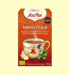 Menta Dolç - Yogi Tea - 17 bossetes d'infusió