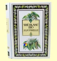 Te Blanc a la vainilla bio - Plant Àsia - 24 saquets de cotó