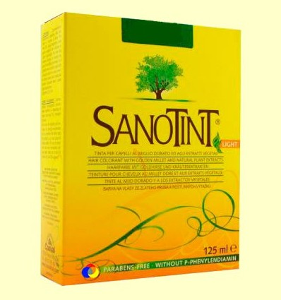 Tint Sanotint Light - Rubio daurat intens 87-125 ml
