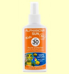 OFERTA-30% - Protector Solar Ecològic SPF 30 Kids - Alphanova - 125 grams