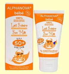 Protector Solar Ecològic SPF 50 Nadó - Alphanova Nadó - 50 grams