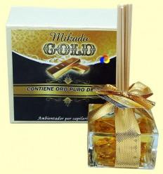 Mikado Gold - Ambientador per capil·laritat - Aromalia - 30 ml