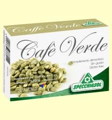 OFERTA-50% - Cafè Verd - Specchiasol - 30 càpsules vegetals