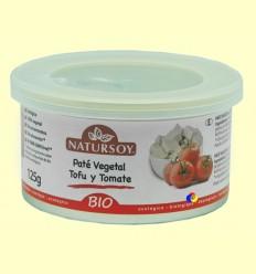 Paté vegetal Tofu i Tomàquet - Natursoy - 125 grams