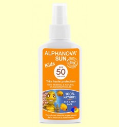 OFERTA-30% - Protector Solar BIO SPF 50 Kids - Alphanova - 125 grams
