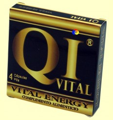 QI vital energy - 4 càpsules