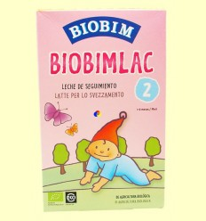 Biobimlac 2 - + 6 mesos - Llet de seguiment ecològica - BIOBIM - 450 grams