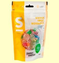 Caramels de fruites amb Stevia - Sweet Switch - 70 grams