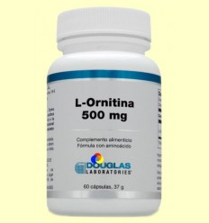Max-Carnitina 500 mg - Laboratoris Douglas - 60 càpsules
