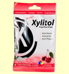 Xylitol pastilles gust Cirera - Miradent - 26 unitats