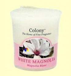 Espelma aromàtica petita Magnolia Blanca - Colony
