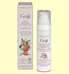 Crema per la cara antioxidant i tonificant Goji - L'Erbolario - 50 ml
