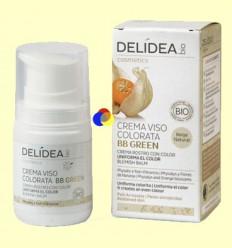 Crema Facial amb color BB Green - Delidea - 50 ml