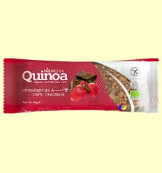 Barreta nutritiva de Quinoa / Maduixa / Xocolata Negre - Nature Crops - 40 grams