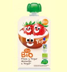Pouch de Maduixa i Iogurt - Mi Menú - 100 Grams