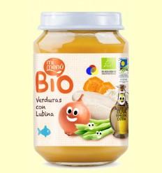 Puré de Verdures amb Llobarro Bio - Mi Menú - 200 grams
