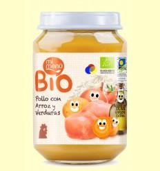 Puré de Pollastre amb Arròs i Verdures Bio - Mi Menú - 200 grams