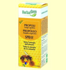 Pròpolis Spray Ampli Espectre Bio - Herbal Gem - 15 ml