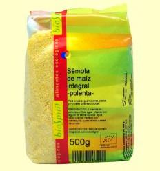 Polenta Bio - Sèmola de Blat de Moro Integral - BioSpirit - 500 grams