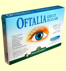 Oftalia Gotes oculars - Naturando - 10 monodosi