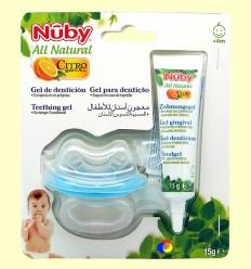 Gel de Dentició i Mossegador Nadó - Nuby - 15 ml