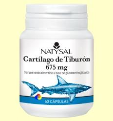 Cartílag de Tauró 675 mg - Natysal - 60 càpsules