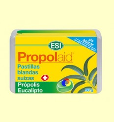 Propolaid Pastilles Blanes Suïsses - Eucaliptus - Laboratoris ESI - 50 grams