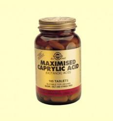 Àcid caprílic maximitzat - Solgar - 100 comprimits *