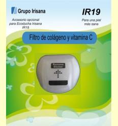Filtre de col·lagen i vitamina C - Accessori opcional per la Ecoducha Irisana IR15 - Grup Irisana