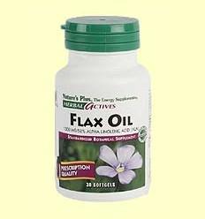 Flax Oil - Oli de llavor de lli - Nature 's Plus - 30 perles