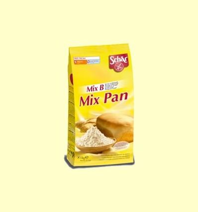 """Preparat per pa sense gluten """"Mix Pan"""" - Mix B de la casa Schär - 1000 grams"""