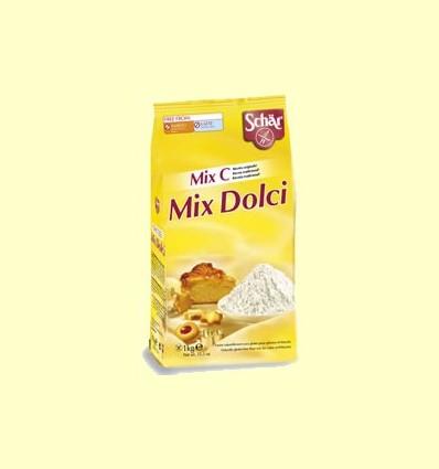 Preparat per a pastissos i galetes sense gluten - Mix Dolci - Mix C - Schär - 1 kg