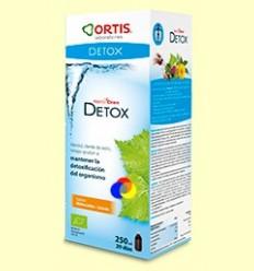 Metodren Detox - Ortis - Sabor préssec-llimona - 250 ml