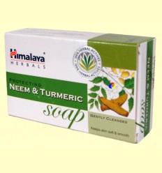 Sabó amb neem i cúrcuma - Himàlaia Herbals - 75 grams