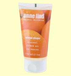 Anne Lind Body Gel Orange Ginger - Gel de dutxa - Anne Marie Börlind - 150 ml