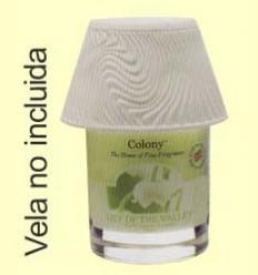Llum per Vela Large Lamp Shade Swril Lines Effect - Colony - 1 unitat