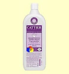 Xampú extrasuau Bio amb Proteïnes de Blat - Ús diari - Cattier - 1000 ml