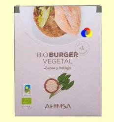 Hamburguesa Vegetal Quinoa i Borratja Bio - Ahimsa - 150 grams