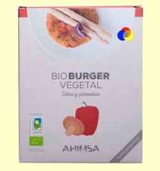 Hamburguesa Vegetal Bolets i Pebrots Bio - Ahimsa - 150 grams